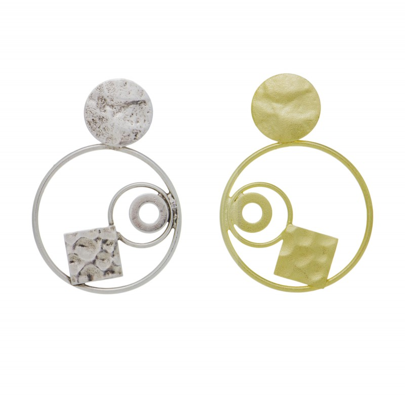 Σκουλαρίκια Γεωμετρικά Σχέδια 3394051940c