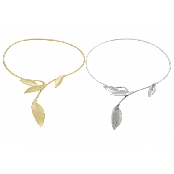 Olive Leaves Necklace