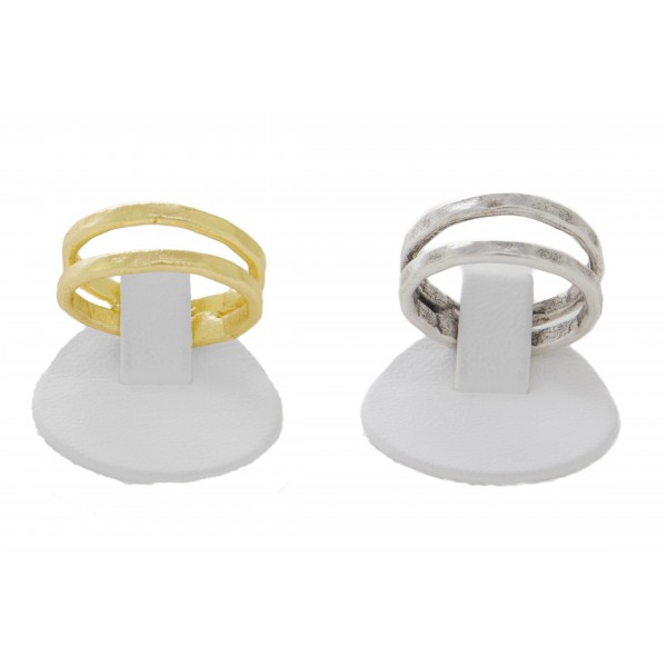 Double-line Ring